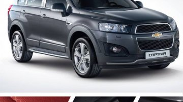 Chevrolet Captiva Dynamic Red Edition launched in South Korea