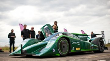 Video - Watch Lord Paul Drayson's World Record Breaking 327km/h EV Run
