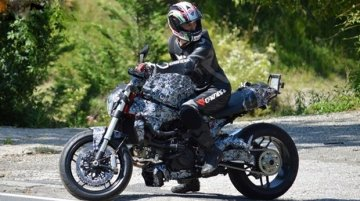 Spied - Ducati Monster 1198 caught testing