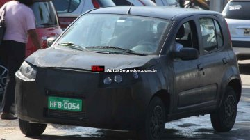 Spied - Fiat Uno is getting ready for a midlife refresh in Brazil