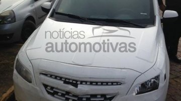 Spied - Chevrolet Agile to get a facelift and co-exist with Onix in Brazil