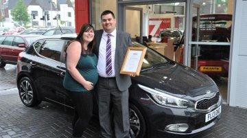 Kia sells its 500,000th car in the UK