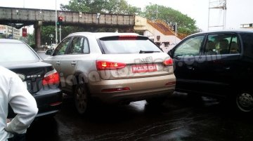Spied - Locally assembled Audi Q3 caught on test once again