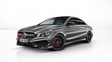 Mercedes CLA 45 AMG Edition 1 unveiled