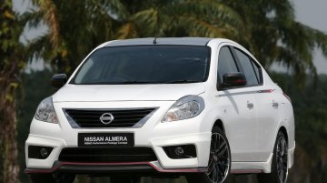 Nissan Sunny NISMO Performance Package Concept is a mean family sedan