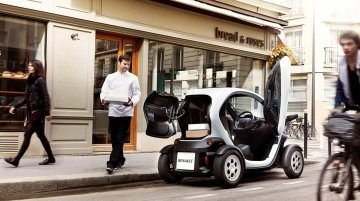 Renault Twizy Cargo is an ultra compact green CV