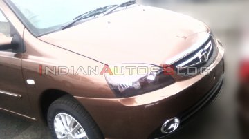 Spied - Refreshed Tata Indigo eCS shows its interior and rear sans camouflage