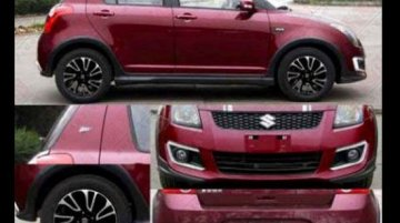 Spied - Old Suzuki Swift gets an anniversary special edition in China