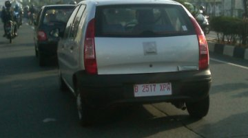 Spied - Tata Indica spotted testing in Indonesia