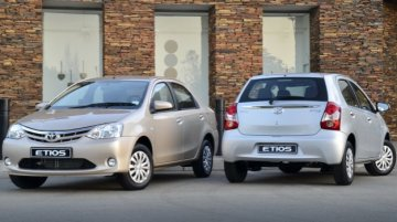 2013 Toyota Etios sedan and hatchback showcased at Buenos Aires Motor Show