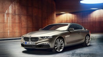 Rendering - BMW Gran Lusso Coupe resurrects the 8 Series