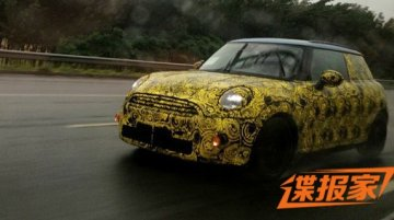 Undisguised 2014 Mini Cooper spotted