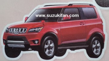 Render - Maruti XA Alpha may lend styling cues to the Jimny replacement