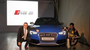 Audi RS5 Coupe facelift launched in India at 95.28 lakhs