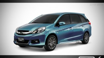 Report - Honda Brio MPV to be called the Honda Mobilio
