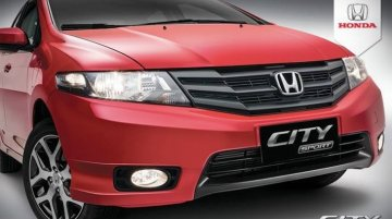 Honda City Sports launched in Brazil; gets 16'' wheels and Rally Red paint