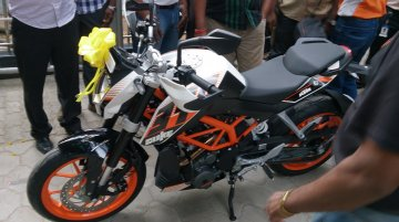 KTM Duke 390 launched in Chennai at Rs. 1,83,837
