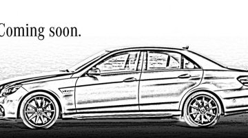 Mercedes-Benz India teases the E 63 AMG, to be launched on Thursday