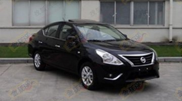 Spied - Is this the Nissan Sunny facelift?