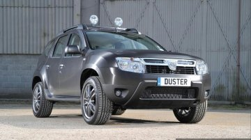 "Dacia Duster Black Edition launched in the UK with 18"" alloy wheels and vinyl body wrap"
