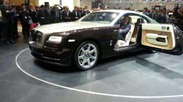 Rolls Royce Wraith to cast a spell on India next month?