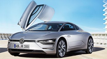 Rendering - The VW XR1 is the Porsche 911 rivaling DIESEL powered supercar