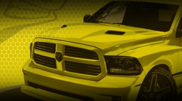 USA - Ram Rumble Bee Concept teased ahead of its debut at Woodward Dream Cruise
