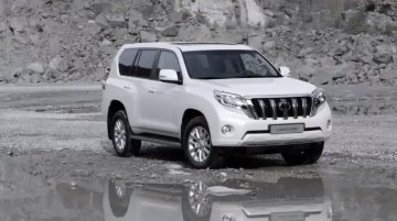Video - 2014 Toyota Land Cruiser Prado (facelift) leaked online