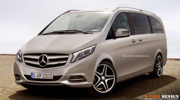 Rendering - 2015 Viano gets Mercedes' latest design language