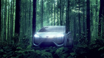 More details about the 2015 Toyota FCV-R fuel cell production sedan released