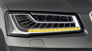 Audi's Matrix LED system features innovative turn signal technology; Debuts on the 2014 A8