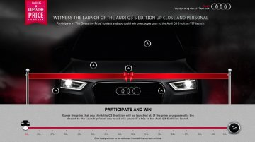 Audi India begins marketing the cut-price Q3 S; Guarantees 'never-before' launch price