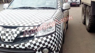 Spied - Foton Tunland pickup caught testing in Pune, again