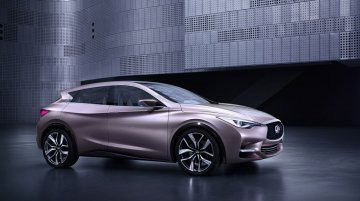 Mercedes MFA-based Infiniti Q30 Concept previewed ahead of its Frankfurt premiere