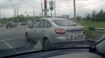 Russia - Lada Granta Liftback spied