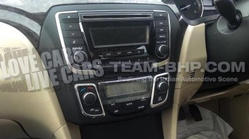 Spied - Interiors of the Maruti YL1 Sedan (SX4 replacement) snapped
