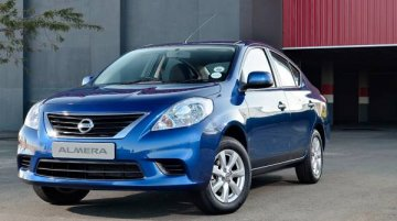 South Africa - India-made Nissan Almera (Sunny) launched at R165,000 [Edit]