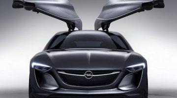 Frankfurt-bound Opel Monza concept revealed