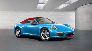Report - Porsche 911 Carrera Blu Edition to premiere in Frankfurt