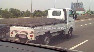 Indonesia - Tata Super Ace caught testing