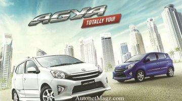 Indonesia - Brochure scans of the Toyota Agya divulge trim levels