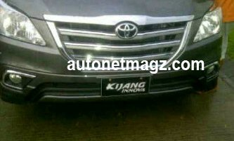 Spied in Indonesia - Toyota Innova Facelift to be introduced at IIMS 2013