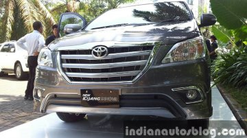 Indonesia (Live) - Toyota Innova Facelift launched; Images, Brochure inside