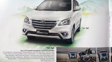 Indonesia - New brochure scans of the Toyota Innova Facelift available