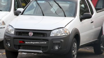 Brazil - Refreshed Fiat Strada to launch in mid-October [Spyshots]