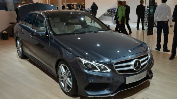 Frankfurt Live - 2014 Mercedes E-Class launched with a 9G-Tronic (9-speed) gearbox