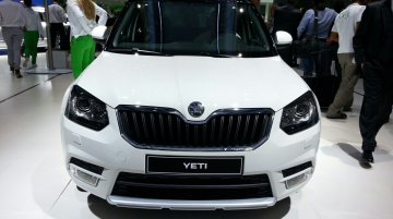 Frankfurt Live - Skoda Yeti Facelifts now come as twins