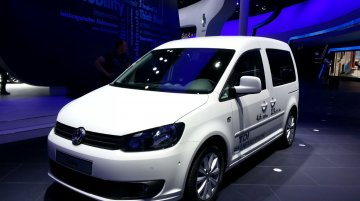 Frankfurt Live - 2014 VW Caddy BlueMotion promises to be soft on your wallet