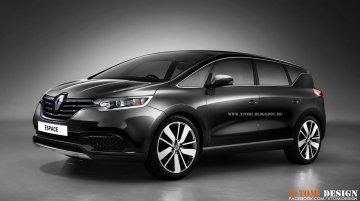 Rendering - Next gen Renault Espace