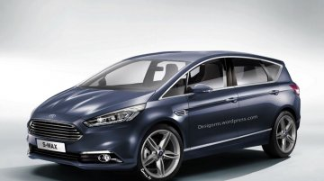 Rendering - Next-gen Ford S-Max is the best looking MPV ever!